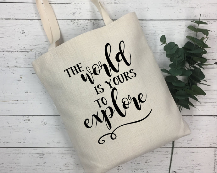 The World Is Yours To Explore SVG - Crafty Mama Studios
