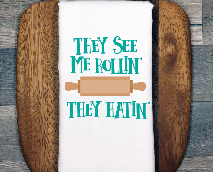 They See Me Rollin They Hatin SVG - Crafty Mama Studios