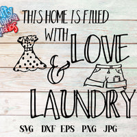 Love And Laundry SVG