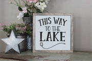 This Way To The Lake SVG - Crafty Mama Studios
