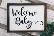 Welcome Baby SVG - Crafty Mama Studios