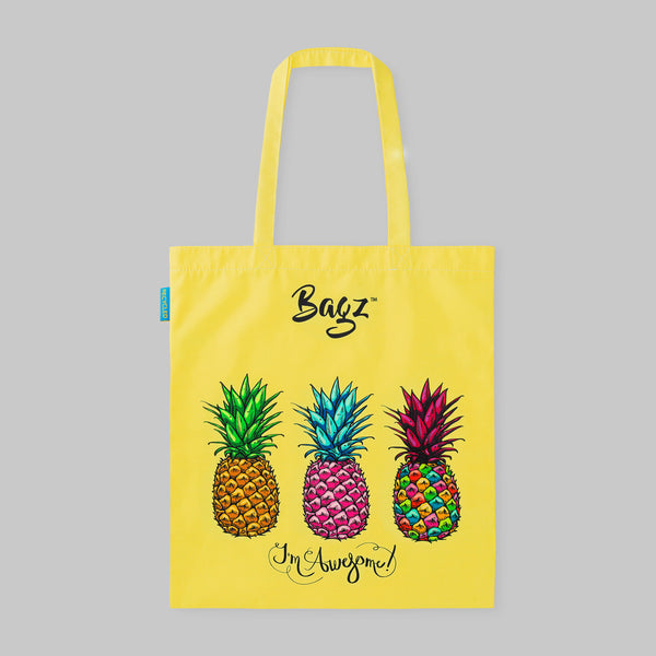 PINEAPPLES | YELLOW | TOTE BAG