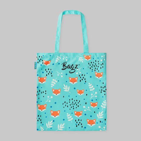 FOX | BLUE | TOTE BAG