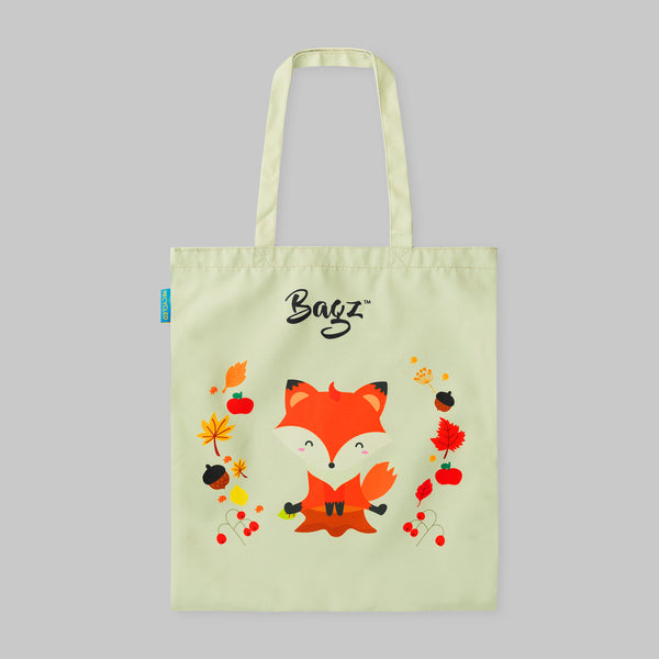 FOX AND LEAVES | NATURE | TOTE BAG