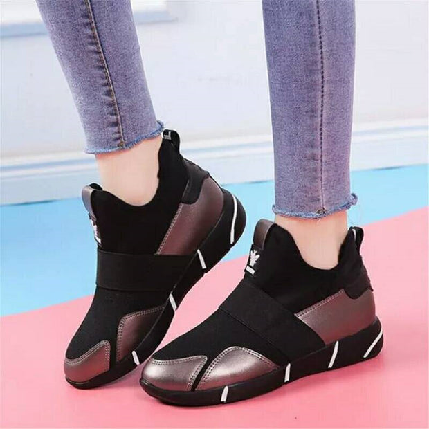 Casual easy matching women's travel shoes sneakers