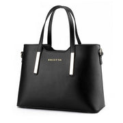Sokano Trendz Sweet SA PU Premium PU Leather Bag- Black
