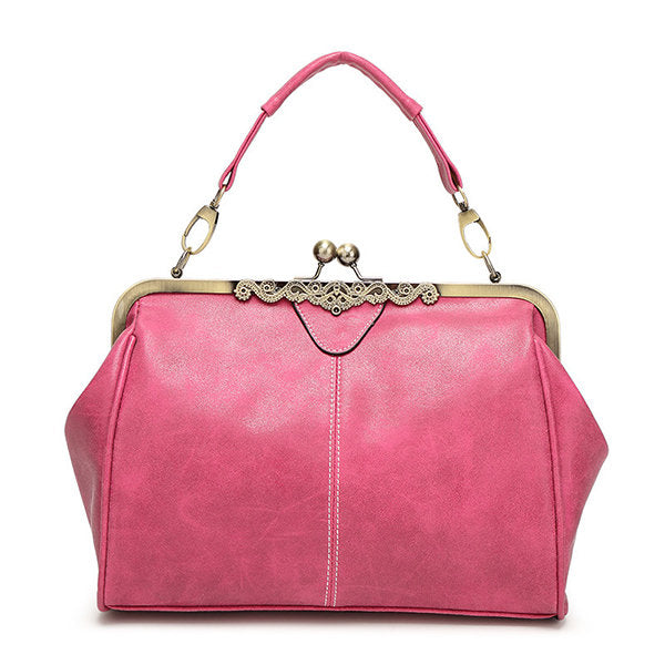 Korean style vintage women fashion shoulder bag