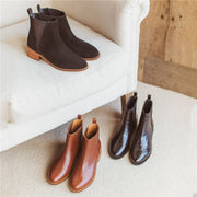Women's Fashion Versatile Chelsea Boots