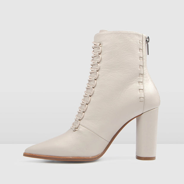 Sexy contracted pointed toes high heel ankle boots