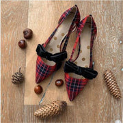Spring and summer fashion pointed toe shoes