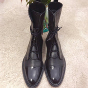 British flat bottom with Martin boots RY25