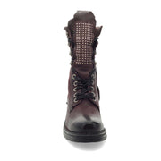 Winter vintage leather fashion women's boots