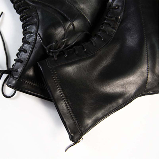 New handsome wild British style leather ankle boot