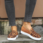 Canvas Women's Platform Comfortable Leopard Single Shoes