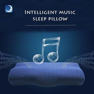 Smart Orthopaedic Pillow (Music + Sleep Tracker) - Sleepgadgets