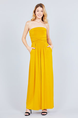 Tube Top Maxi Dress - The Chic Woman