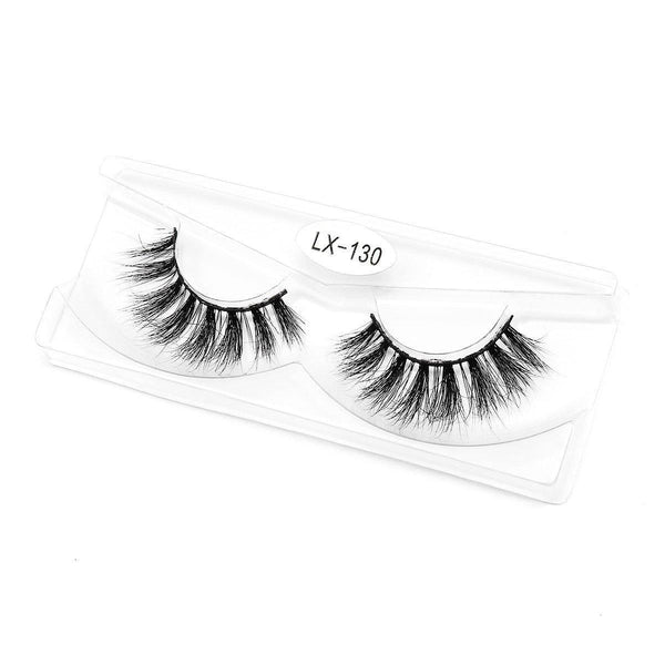 Wholesale 3D Soft Mink Eyelashes Handmade Lash Strip Cruelty Free Mink lash(16mm-20mm) - omgbeautylash