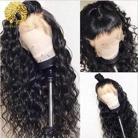 Best Quality Loose Curly Human Hair Wigs Human Hair Ponytail Full Lace Human Wigs - omgbeautyhair