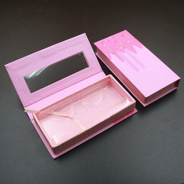 Candy Eyelash Packaging Private Label Wholesale Mink Lashes Packaging - omgbeautylash