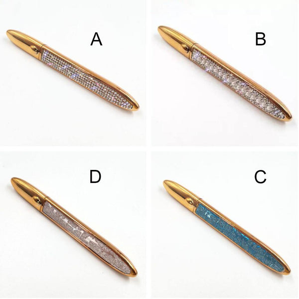 Diamond Magic Self adhesive Liquid Eyeliner Pencil Magnet-free Glue-free Waterproof - omgbeautylash