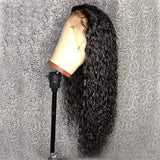 Water Wave Human Hair Wig Wet and Wavy Lace Front Wigs Water Wave Frontal Wigs - omgbeautyhair