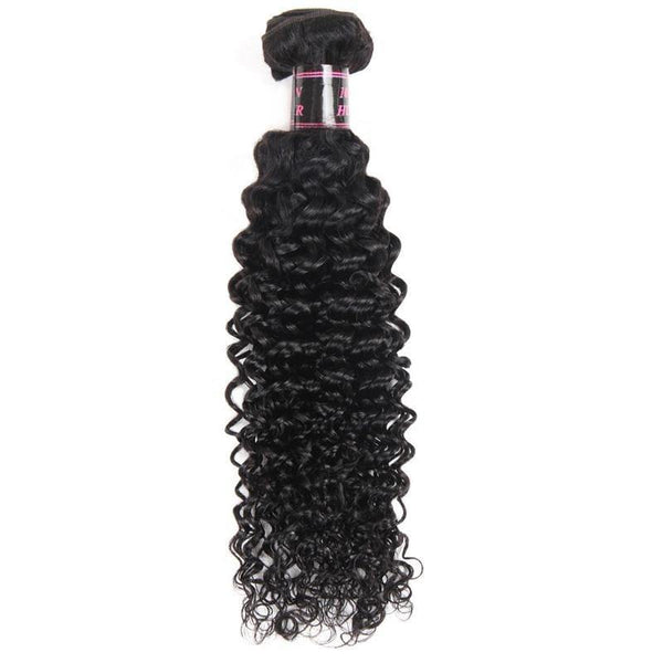 Kinky Curly Human Hair Weave Brazilian Human Hair Bundles Hair Extensions Ship From US - omgbeautyhair