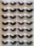 21 pairs of lashes
