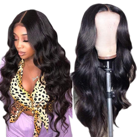 Body Wave Hairline Lace Front Wig Virgin Hair Lace Front Human Hair Wigs - omgbeautyhair