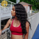 Deep Wave Human Hair Weave Brazilian Human Hair Bundles Hair Extensions - omgbeautyhair