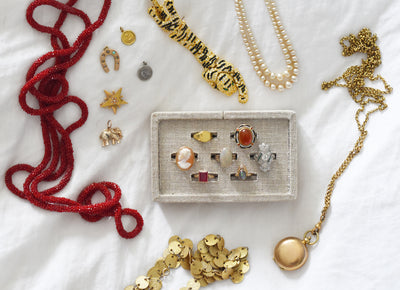 Mallory's Perspective: My Vintage Jewelry Collection