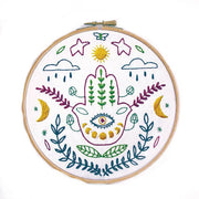 Hamsa Embroidery Kit