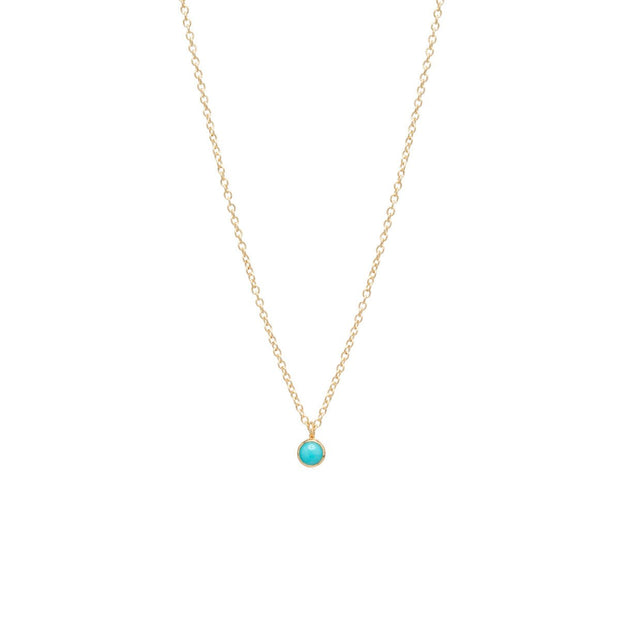 Turquoise Choker Pendant Necklace