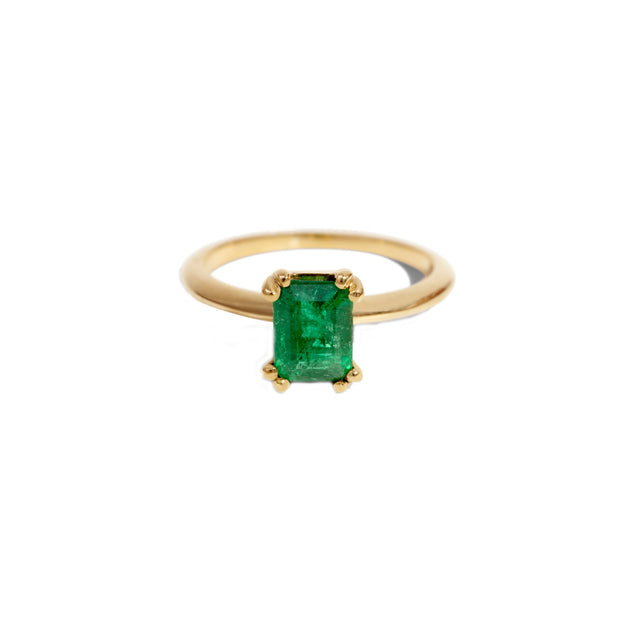 Ray Emerald Ring