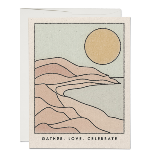 Gather Coastline Card