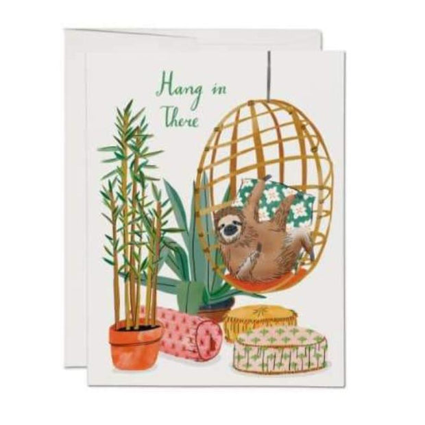 Chair Sloth Card