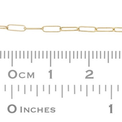 Endless Bracelet - Elongated Rectangle Chain (2mm)