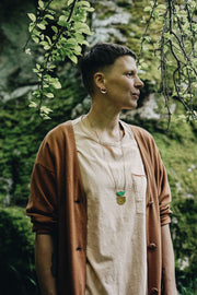 Green Cistern Necklace - Shelter Jewelry Shop DC