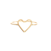 Silhoutte Ring - Heart
