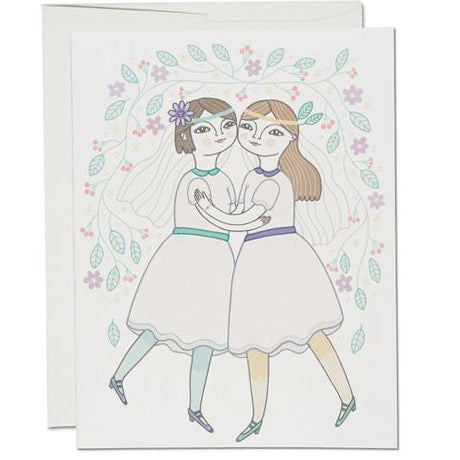 Girl Wedding Card