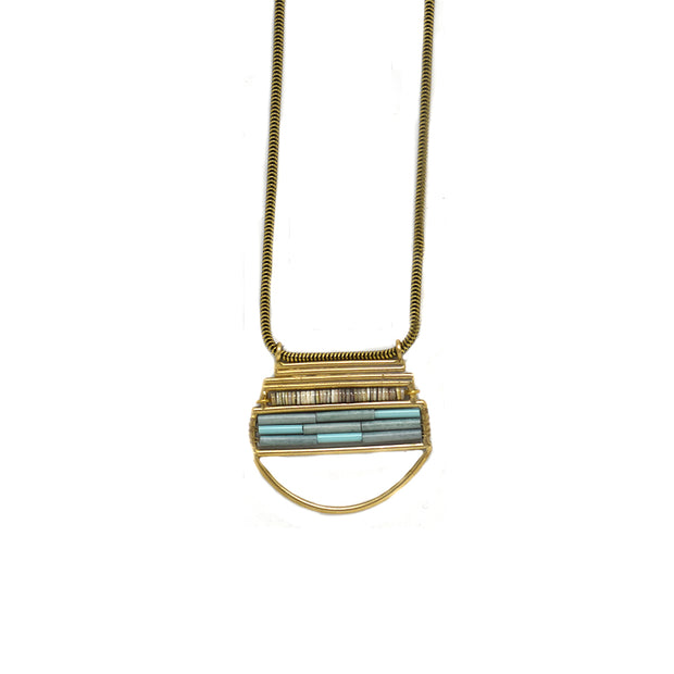 Empress Necklace - Aqua