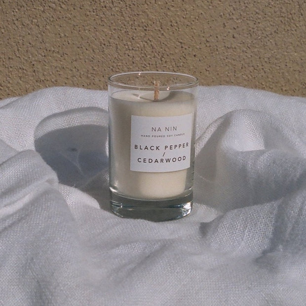 Black Pepper & Cedarwood Candle