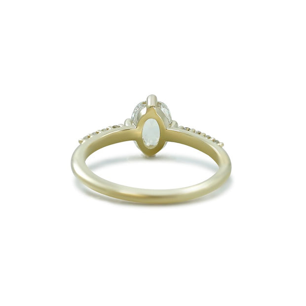 Rose Cut Camille Ring
