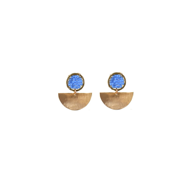 Chariot Studs - Periwinkle