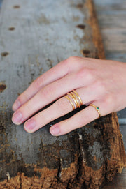 14k Goldfill Infinity Ring - Shelter Jewelry Shop DC