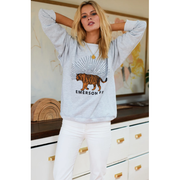 Emerson Fry Tiger Sweatshirt - Grey