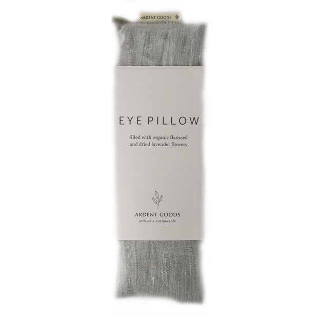 Linen Lavender Eye Pillow - Flax