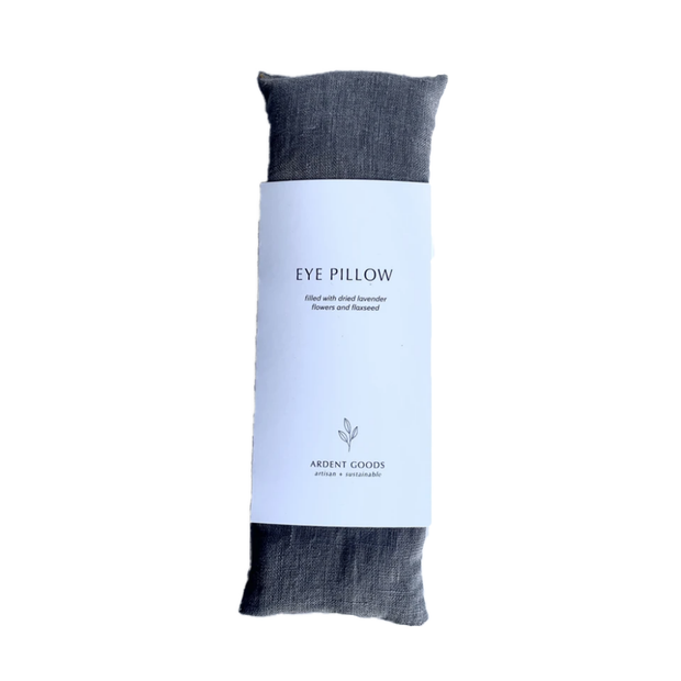 Linen Lavender Eye Pillow - Graphite