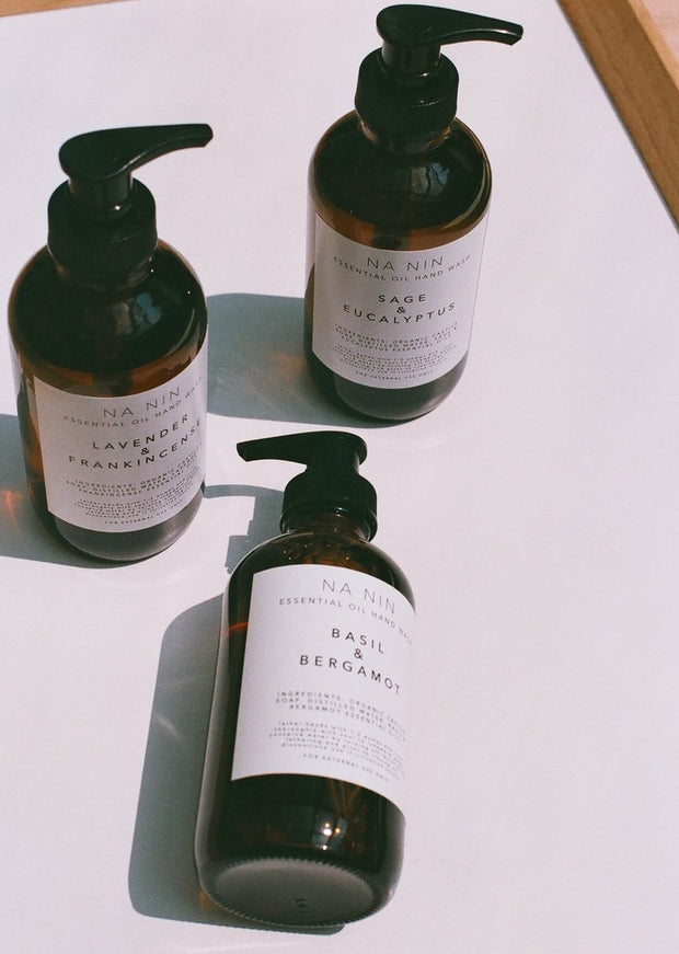 Sage & Eucalyptus Essential Oil Hand Wash