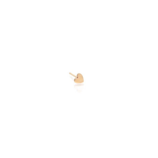 Itty Bitty Heart Stud - Single
