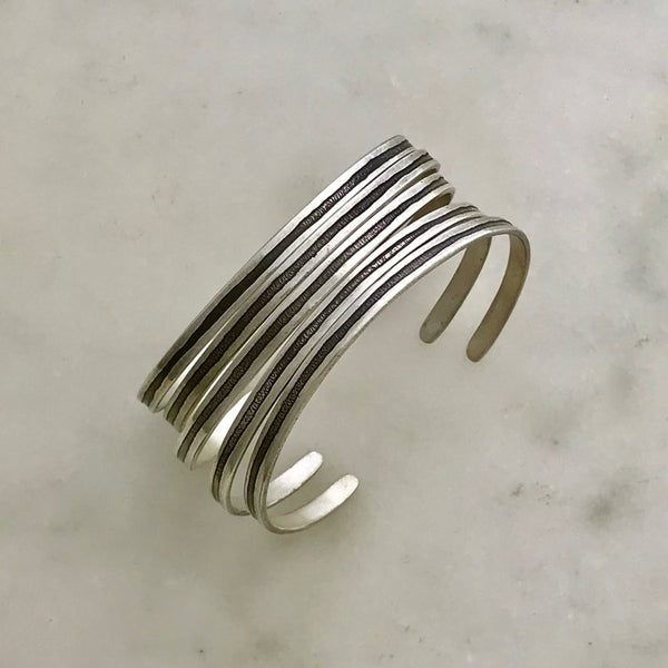 Line Cuff - Silver - Shelter Jewelry Shop DC